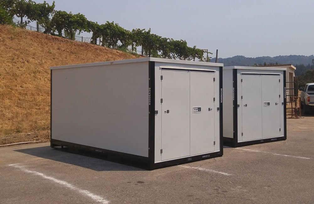 Off site containers rental
